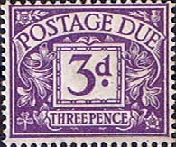 Great Britain 1937 Post Due SG D 30 Fine Mint