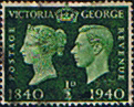 Great Britain 1940 Centenary of First Adhesive Postage Stamps SG 479 Fine Used