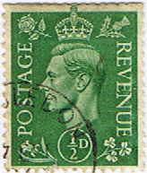 Great Britain 1941 King George VI Head SG 485 Fine Used