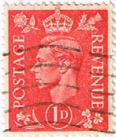 Great Britain 1941 King George VI Head SG 486 Fine Used