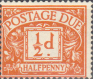 Great Britain 1959 Post Due SG D 56 Fine Mint
