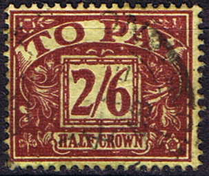Stamps of Great Britain 1959 Post Due SG D 65 Fine Used Scott J 64