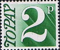 Great Britain 1970 Post Due SG D 79 Fine Mint