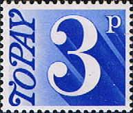 Great Britain 1970 Post Due SG D 80 Fine Mint