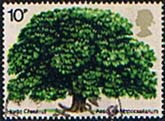 Great Britain 1974 British Trees Horse Chestnut Fine Used