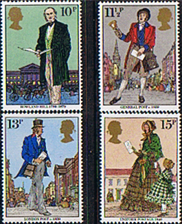 Postage Stamps Great Britain 1979 Sir Rowland Hill Set Fine Mint