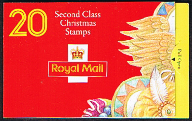 Great Britain 1994 Christmas Stamp Booklet SG LX7