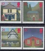 Great Britain 1997 Sub-Post Offices Set Fine Mint