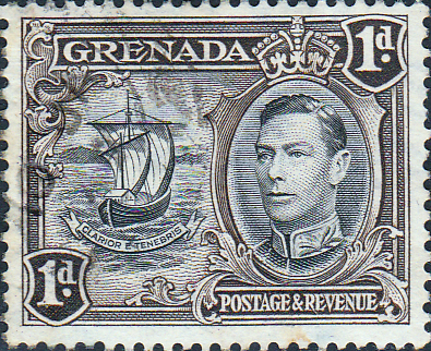 Grenada 1938 King George VI SG 154a Fine Used