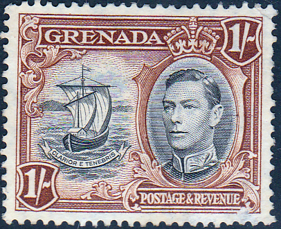 Grenada 1938 King George VI SG 160a Fine Used