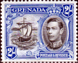 Grenada 1938 King George VI SG 161 Fine Mint