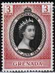 Stamps stamp Grenada Queen Elizabeth II 1953 Coronation Fine Mint SG 191 Scott 170
