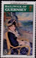 Guernsey 1974 Renoir Paintings SG 120 Fine Mint