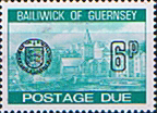 Stamp Postage Stamps Guernsey 1977 Decimal Post Due SG D24 Scott J24