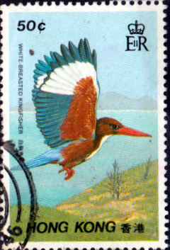 Hong Kong 1988 Birds SG 568 Fine Used