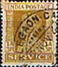 India 1939 King George VI Service SG O146a Fine Used