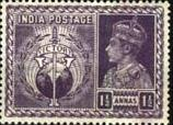 India 1946 King George VI Victory SG 279 Fine Mint