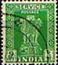 India 1950 Asokan Lion Capital Service SG O153 Fine Used