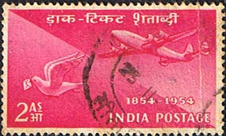 India Stamps Stamp Centenary