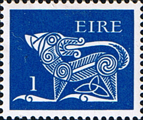 Decimal Postage Stamps of Eire Ireland 1974 SG 340 Fine Mint Scott 344