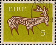 Ireland 1971 Eire Decimal Issue SG 295 Fine Used