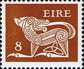 Decimal Postage Stamps of Eire Ireland 1974 SG 350 Fine Mint Scott 353
