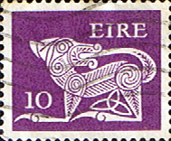 Ireland 1974 Eire Decimal Issue SG 354a Fine Used