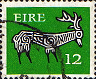 Ireland 1974 Eire Decimal Issue SG 355a Fine Used
