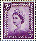 Stamps of Isle of Man 1958 Queen Elizabeth SG 2 Fine Mint