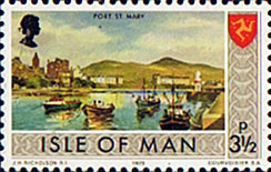 Postage Stamps Isle of Man 1973 Independent Postal Administration SG 18 Fine Mint SG 18 Scott 18 For Sale
