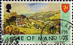 Postage Stamps Isle of Man 1973 Independent Postal Administration SG 24 Fine Used SG 24 Scott 54