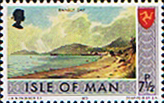 Postage Stamps Isle of Man 1973 Independent Postal Administration SG 25 Fine Mint Scott 22