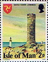 Postage stamps Isle of Man 1978 Watch Tower Langness SG 111 Fine Mint Scott 112