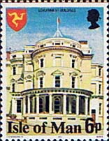 Postage stamps Isle of Man 1978 Government Buildings SG 113 Fine Mint Scott 115