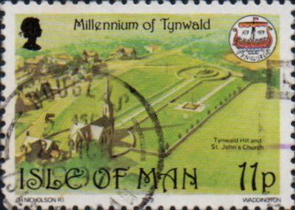 Isle of Man 1979 Millennium of Tynwald SG 154 Fine Used