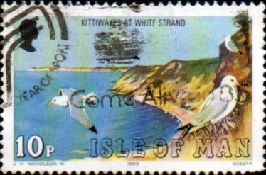 Postage Stamps Isle of Man 1983 Birds SG 240 Fine Used