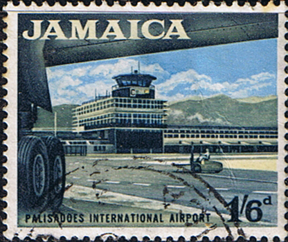 Jamaica 1964 SG 227 Palisadose Airport Fine Used