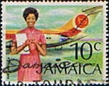 Jamaican Stamp Stamps Jamaica 1972 Air Jamaica Fine Used SG 352 Scott 351