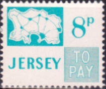 Postage Stamps Jersey 1971 Post Due SG D14 Scott J14 Fine Min