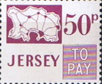 Postage Stamps Jersey 1971 Post Due SG D20 Scott J20 Fine Mint