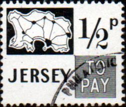 Postage Stamps stamp Stamps Jersey 1971 Post Due SG Scot D7 J7 Fine Mint
