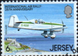 Postage Stamps Jersey 1979 International Air Rally SG 208