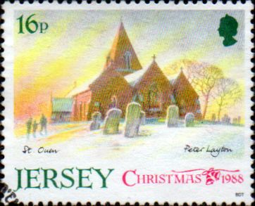 Jersey 1988 Christmas Jersey Parish Churches SG 459 Fine Used