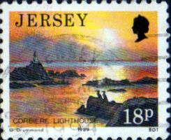 Jersey 1989 Scenes SG 478 Fine Used