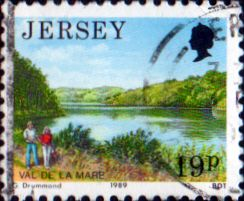 Jersey 1989 Scenes SG 479 Fine Used