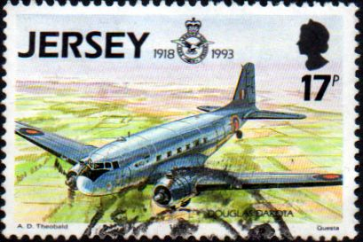 Jersey 1993 Royal Air Force SG 618 Fine Used