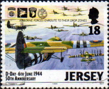 Jersey 1994 Anniversary of D-Day SG 659 Fine Used