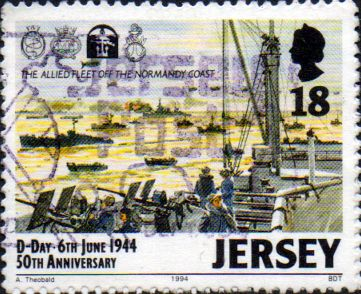 Jersey 1994 Anniversary of D-Day SG 660 Fine Used