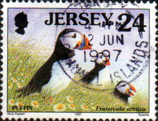 Jersey 1997 Birds SG 784a Fine Used