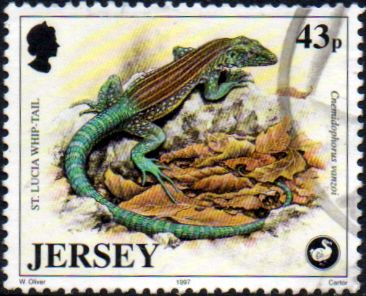 Jersey 1997 Wildlife SG 828 Fine Used